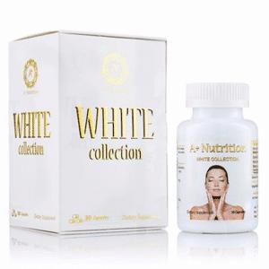 Viên uống white collection giá bao nhiêu